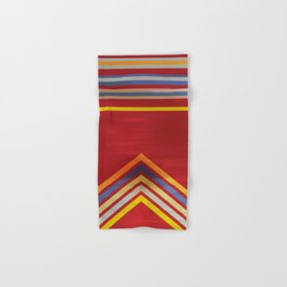 Stripes and Chevrons Ethic Pattern Hand & Bath Towel
