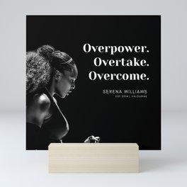 5      Serena Williams Quotes   190518 Mini Art Print