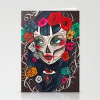mexican Stationery Cards featuring Mexican SK by LucreziaU's Illustration