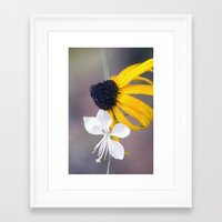 friendship Framed Art Prints featuring Friendship by Laura George