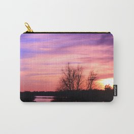 Pink Sky at Dusk Carry-All Pouch