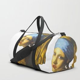 Girl with the Pearl Earring Duffle Bag