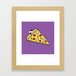 Goofy Foods - Goofy Pizza Framed Art Print