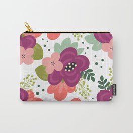 Blooming Florals Carry-All Pouch
