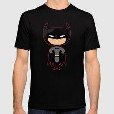 Black Bat MEDIUM Black Mens Fitted Tee