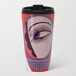 "Art Deco Design ""Compact - Vanities"" by Erté Travel Mug"