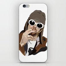 Kurt Smoking iPhone & iPod Skin