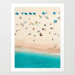 Perfect Beach Day Art Print