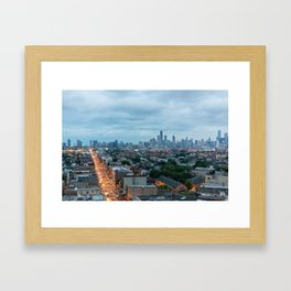 Chicago from The Robey Framed Art Print