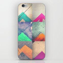 Bright Triangles iPhone Skin