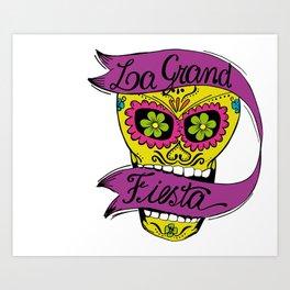 La Grand Fiesta Art Print