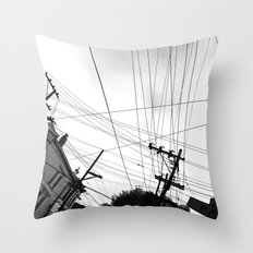 Page st San Francisco Throw Pillow