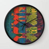 acid Wall Clocks featuring Acid by Rocovich