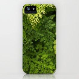 Lush Greens iPhone Case