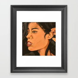 Mila J Music Block Framed Art Print