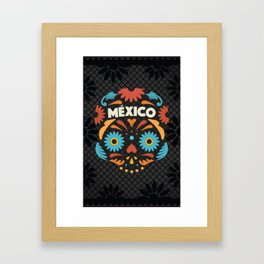 Mexican Skull I. Framed Art Print