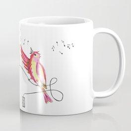 Singing bird Coffee Mug
