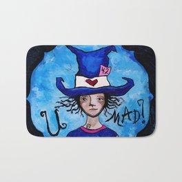 U Mad? Alice in Wonderland's Mad Hatter Bath Mat