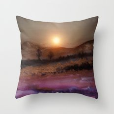 Calling The Sun V Throw Pillow