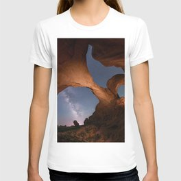 Double Arch in Arches National Park 2 T-shirt