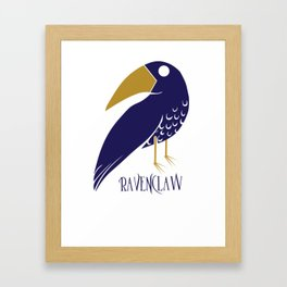 Cute and Smart Ravenclaw Framed Art Print