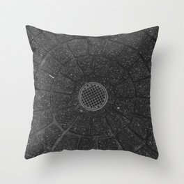 Storm Drain Throw Pillow
