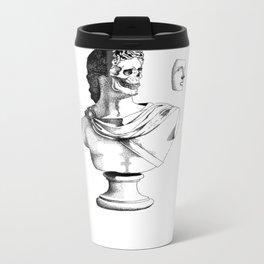 Not a bust (plain top) Metal Travel Mug