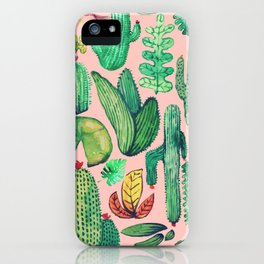 Nature Mix Pink!! iPhone Case