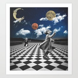 Creators of the Universe Art Print