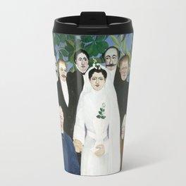 Henri Rousseau, The Wedding Party Travel Mug