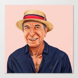 Hipstory - Leonard Cohen Canvas Print