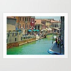 Murano V Art Print