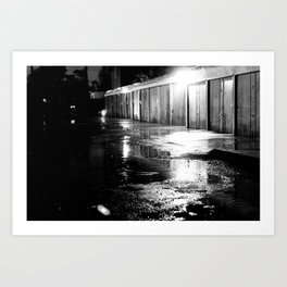 Garage Art Print