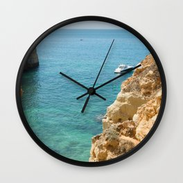 A small inlet suitable for swimming Wall Clock