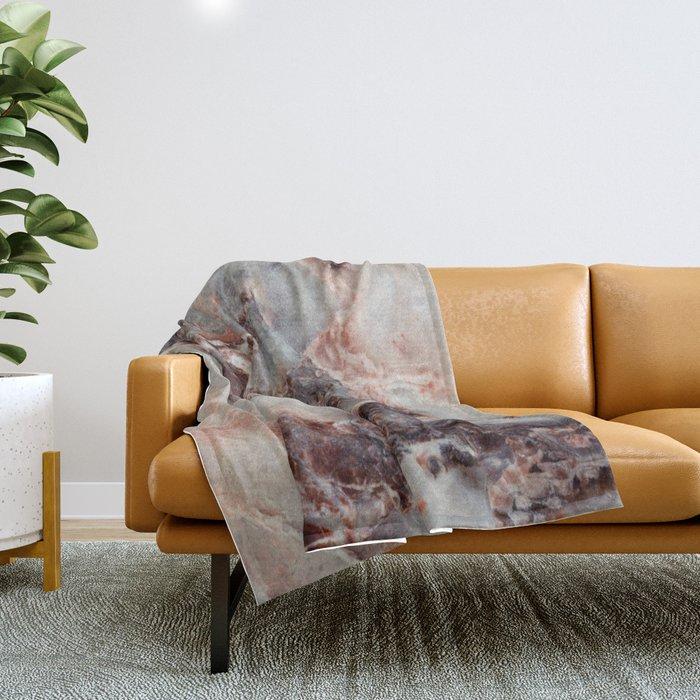 Marble Texture 85 Throw Blanket