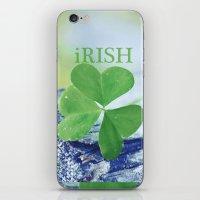 irish iPhone & iPod Skins featuring iRISH by Love2Snap