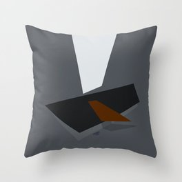 Somber Procrastination Throw Pillow