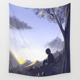 In the morning light Wall Tapestry