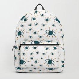 Greeny Eyes Pattern Backpack