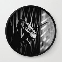 Locked Away Wall Clock