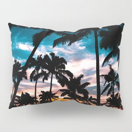 Palm trees dream Pillow Sham