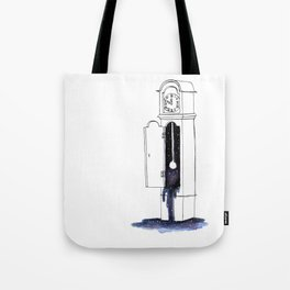 Cosmic Clock Tote Bag