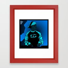 Shadow - better crop Framed Art Print