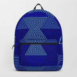 Op Art 63 Backpack
