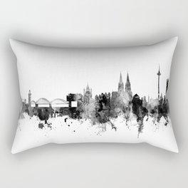 Cologne Germany Skyline Rectangular Pillow