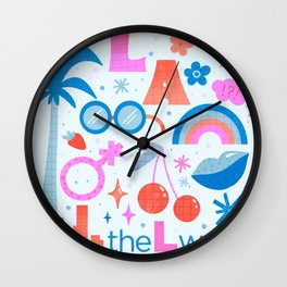 LGBTQ+ Flash - Inspired by the L Word Wall Clock