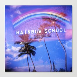 Rainbow School Canvas Print