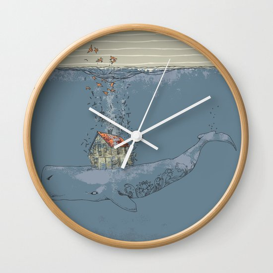 Ocean Home Wall Clock