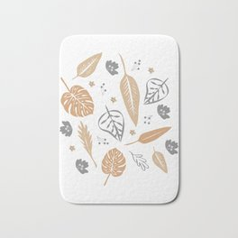 Autumn leaves Bath Mat
