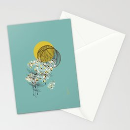 Seasons Time Space Stationery Cards